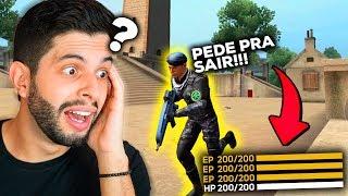 O MAIS FORTE?!? JÁ MITEI COM O NOVO PERSONAGEM BRASILEIRO DO FREE FIRE!