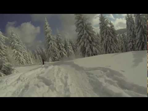 Feldberg Powder Session mit Magic Matze