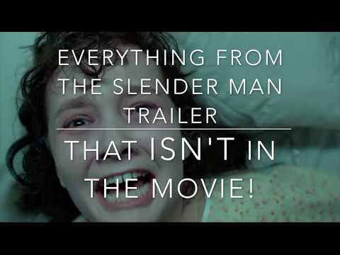 The 'Slender Man' movie DELETED a LOT of scenes!