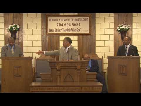 Apostle L. C. Mathis: The Great High Priest
