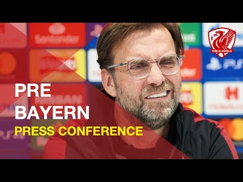 Liverpool Vs. Bayern Munich | Jurgen Klopp Press Conference