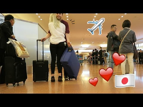 FINALLY!   Meeting babe at Haneda Airport in Japan