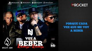 Nicky Jam - Voy a Beber Remix 2 Ft Ñejo, Farruko y Cosculluela   Video Con Letra   Reggaeton 2014
