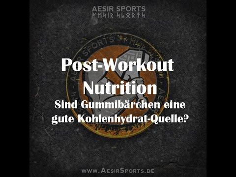 Post Workout Nutrition: Sind Gummibärchen eine gute Kohlenhydratquelle?