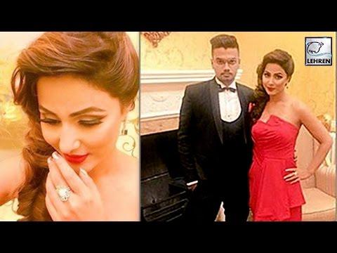 Hina Khan WELCOMES New Year With Boyfriend Rocky (видео)