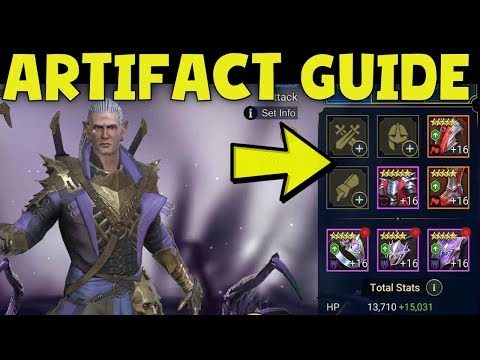 Raid Shadow Legends: Artifact Guide. Everything You Need to Know!