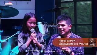 Abbey & Baim Wasowekete is a Waluwa Pelangi Usai Hujan Live