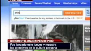 El documental de imagen país de Perú (tv chile)