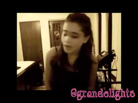 Ariana Grande - Bleeding Love (Cover) lyrics