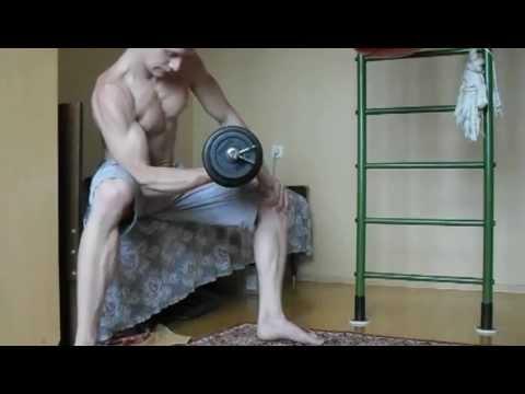 Как накачать мышцы худому человеку