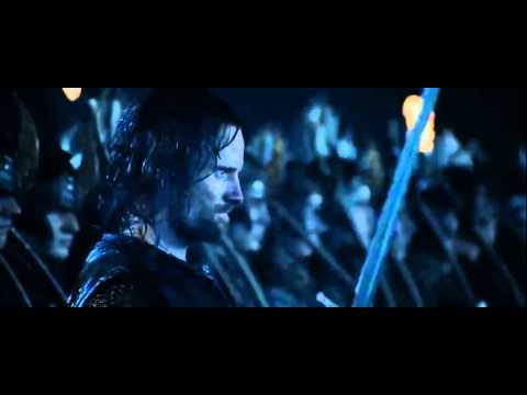 Unutulmaz savaş sahnesi videosu Yüzüklerin efendisi