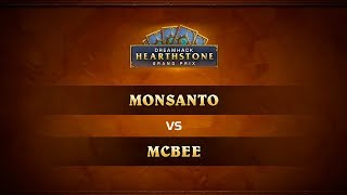 Monsanto vs McBee, game 1