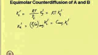 Mod-02 Lec-01 Concept of Mass Transfer Coefficient