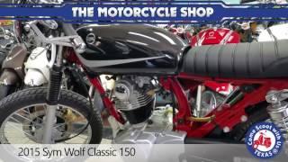 5. 2015 Sym Wolf Classic 150