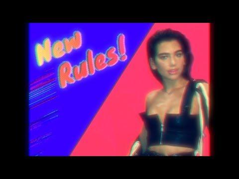 Dua Lipa's 'New Rules' Gets a Synth-Heavy '80s Remix