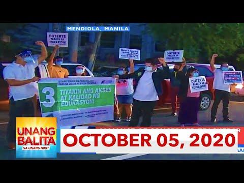 Unang Balita sa Unang Hirit: October 5, 2020 [HD]