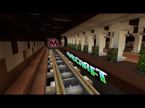 #49 Метро 2.0 в Minecraft!!!