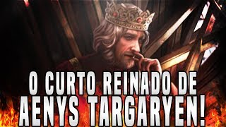 No vídeo de hoje, voltando ao quadro Os Reis Targaryen, eu irei comentar como foi o Reinado do filho herdeiro de Aegon, Aenys Targaryen. Aenys reinou por pouco tempo, mas seu reinado foi repleto de revoltas e traições.► LINKS E REDES SOCIAISCanal Principal: https://www.youtube.com/user/TheDanielsSkMeu Twitter: https://twitter.com/TheDanielsSkMeu Instagram: http://instagram.com/TheDanielsSkPágina no Facebook: http://www.facebook.com/TheRealDanielsSkPara Contato Profissional: contatodaniels@gmail.com!