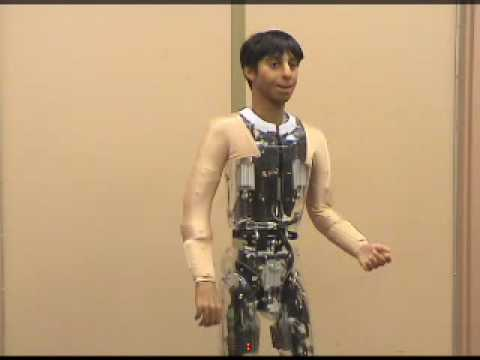 Animatronic - http://www.sallycorp.com Animatronic human built by Sally Corporation for an attraction in Dubai..