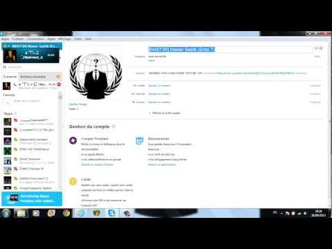 comment modifier pseudonyme skype