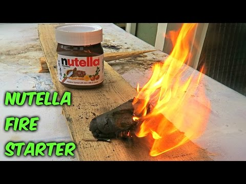 How to Create a Nutella Fire Starter