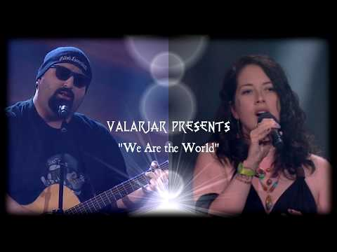 "U.S.A. For Africa  ""We Are the World"" Cover by Snowflake Sharmie"