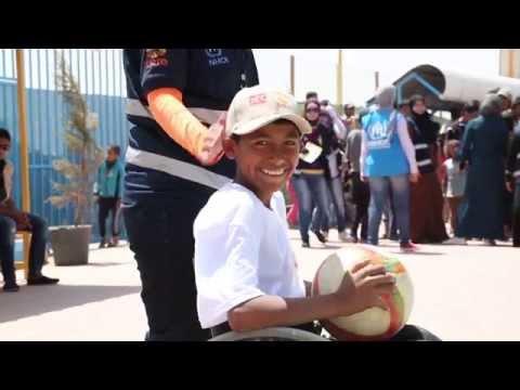 Jordan: Azraq One Year Anniversary