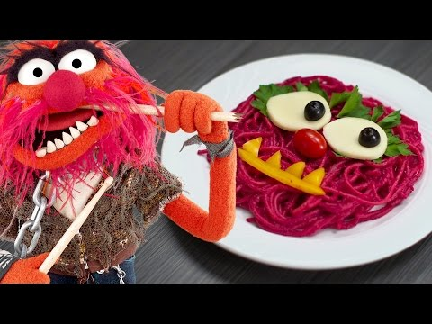 How to Make a Punk Pink Pasta Dish That Looks Like Animal From The