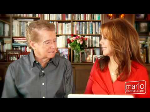 Regis Philbin - Entertainer and TV Icon Regis Philbin answers questions ranging from career advice to how he met his wife. Part of the series Mondays with Marlo on MarloThom...