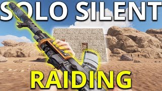 Rust Solo Silent Raid Gives Great Loot - Rust Solo Survival Gameplay