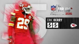 #55: Eric Berry (S, Chiefs) | Top 100 NFL Players of 2016 by NFL