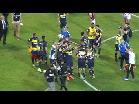 Boca Campeon 2017 / Final del partido y festejo - La 12 - Boca Juniors