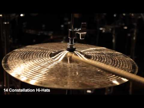Supernatural Cymbals 14 Constellation Hi-Hats