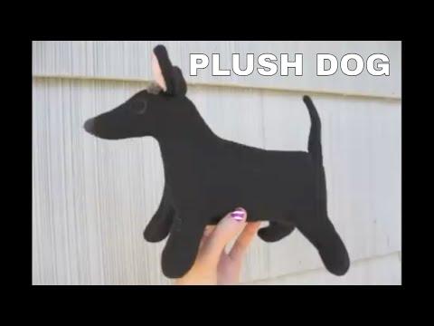 How to Make a Plush Dog Stuffed Animal + FREE PATTERN