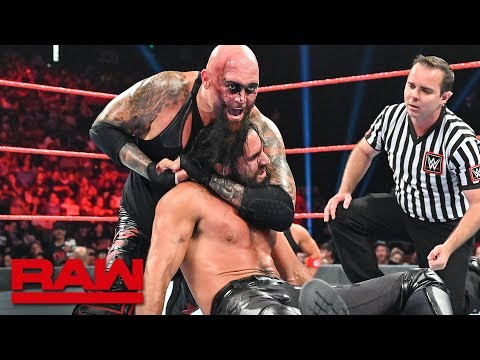 Seth Rollins & Braun Strowman vs. Gallows & Anderson: Raw, Sept. 2, 2019