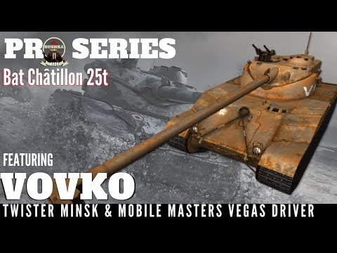 Masterclass Collection Ep 1 Batchat Driving With Vovko World of Tanks Blitz