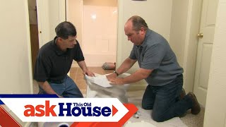 How to Install a New Toilet   Ask This Old House