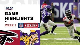 Falcons vs. Vikings Week 1 Highlights | NFL 2019