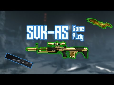 Warface: Golden SVK-AS Gameplay | BagAndTag Icebound (im An Auto-Sniper Noob XD)