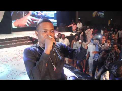 OLAMIDE SPEAKS OUT FOR THE POOR AT YAW AND AY'S' 'SHALANGA' (Nigerian Entertainment)