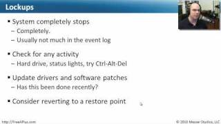 Common Windows Operational Issues - CompTIA A+ 220-702: 2.4