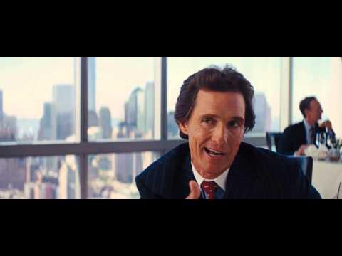 Wolf Of Wallstreet Matthew McConaughey [FULL SCENE] [HD] (видео)