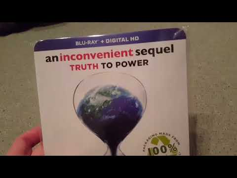An Inconvenient Sequel Truth To Power (2017) Blu Ray And Digital HD Unboxing