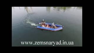 Лодка завозня НСС для обслуживания земснарядов