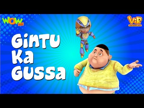 Video Gintu Ka Gussa - Vir: The Robot Boy WITH ENGLISH, SPANISH & FRENCH SUBTITLES download in MP3, 3GP, MP4, WEBM, AVI, FLV January 2017