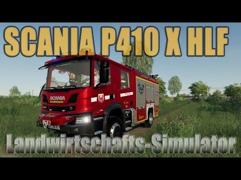Scania P410 X HLF v1.0
