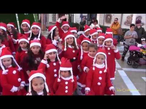 I Cabalgata de Papa Noel en Patines celebrada en Isla Cristina