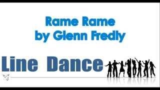 Line Dance - Glenn Fredly - Rame Rame