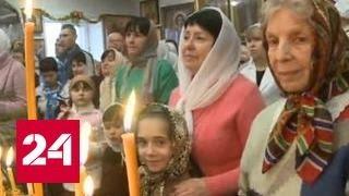 Донбасс: рождественские литургии идут даже в разрушенных храмах