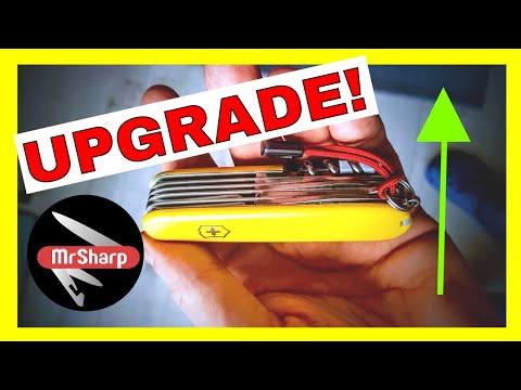 How to upgrade YOUR Swiss army knife | Victorinox Ranger | Swiss knife maintenance